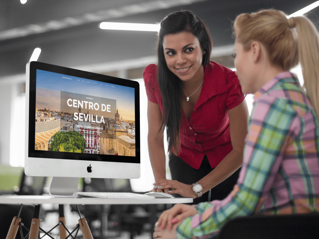 Centro de Sevilla | Diseño web