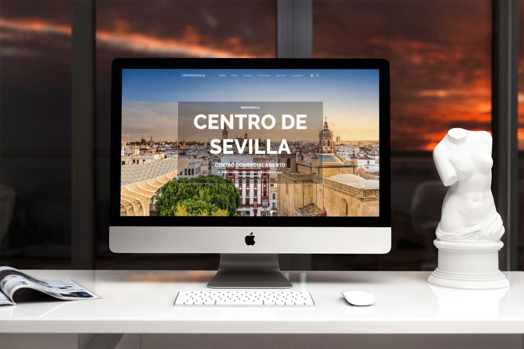 Diseño de landing page - Sevilla