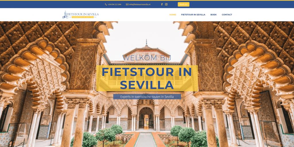 Fietstour in Sevilla | Rutas turísticas en Sevilla | Diseño web