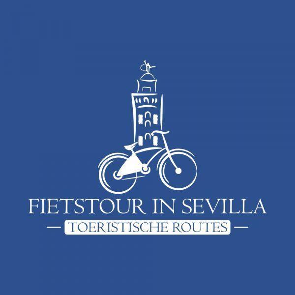 Fietstour in Sevilla - Rutas en bicicleta en Sevilla | Diseño de logotipo