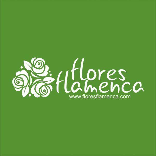 Flores Flamenca - Diseño de logotipo