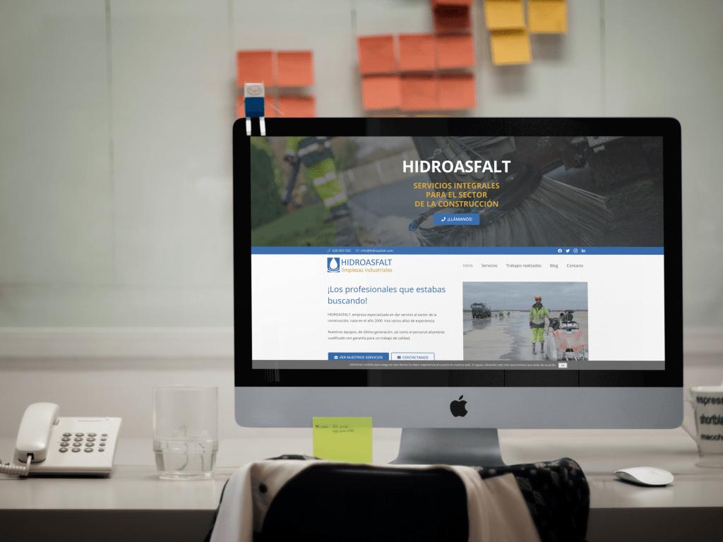 Hidroasfalt - Limpiezas industriales | Diseño web en Sevilla