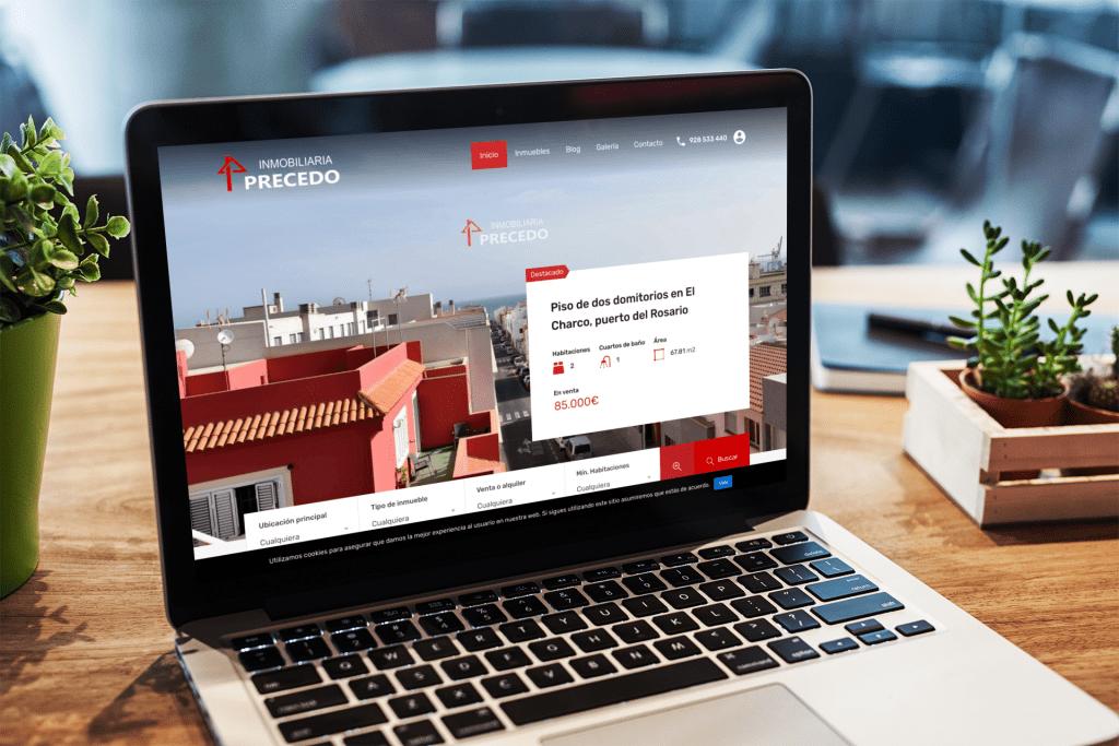 Inmobiliaria en Fuerteventura | Diseño web