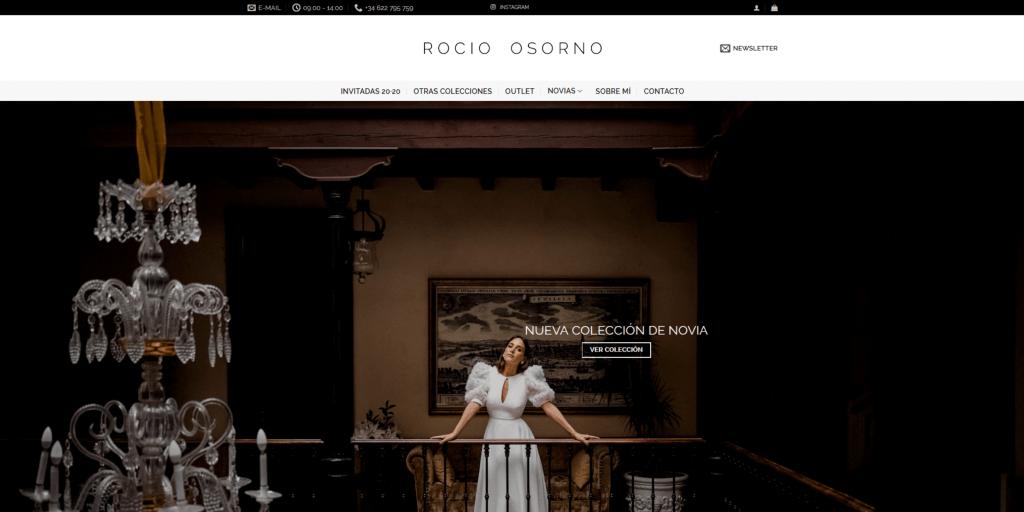 Rocío Osorno - Diseñadora de moda - Influencer | Diseño web en Sevilla