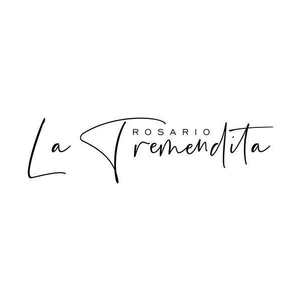 """Rosario """"La Tremendita""""   Diseño de logotipo y firma"""