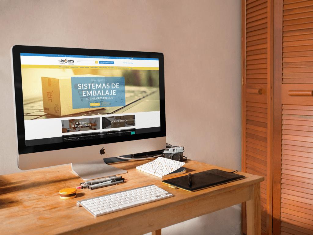 Sisdem - Sistemas de embalaje | Diseño web