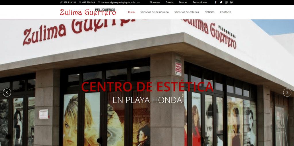 Zulima Guerrero Peluqueros - Peluquería en Playa Honda